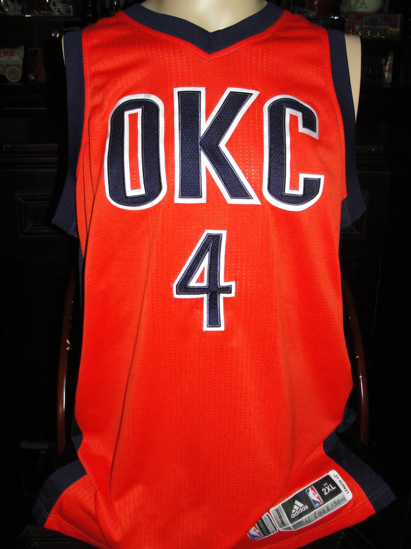 Oklahoma City Thunder - OKLAHOMA SOONERS GAME USED & Sports ...
